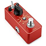 Donner Octave Guitar Pedal, Harmonic Square Digital Octave Pedal Pitch Shifter 7 Shift Types 3 Tone Modes Sharp Detune Flat True Bypass